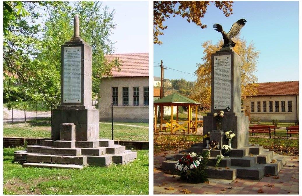 I. világháborús emlékmű rekonstrukció