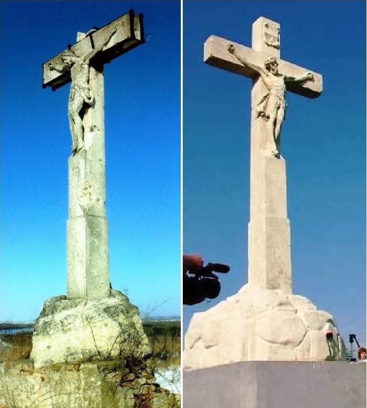 Krisztus szobor rekonstrukció